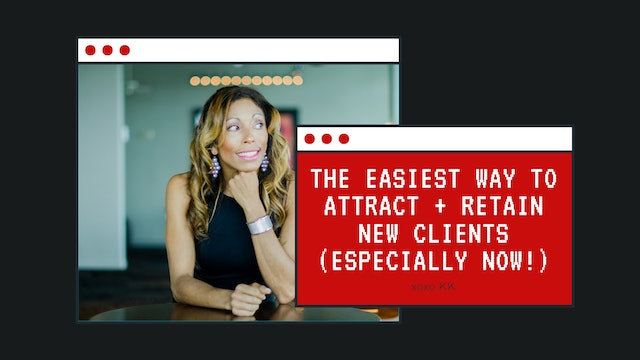The easiest way to attract + retain new clients (especially now!)