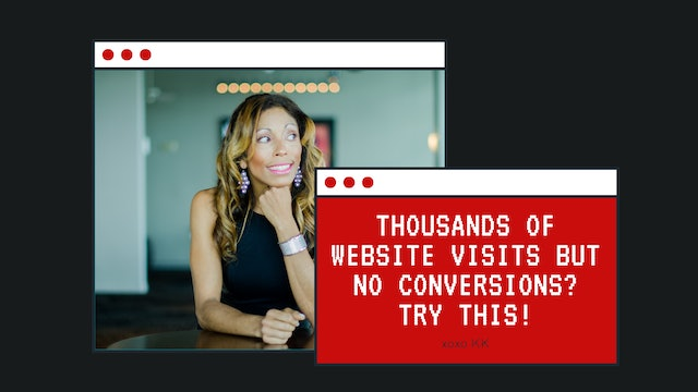 Thousands of website visits and no conversions? Try This!