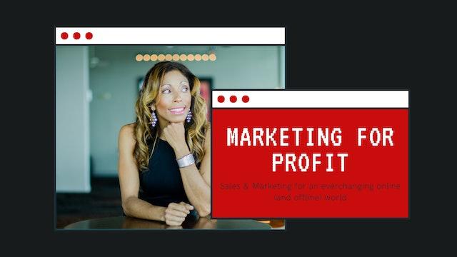 Marketing for PROFIT