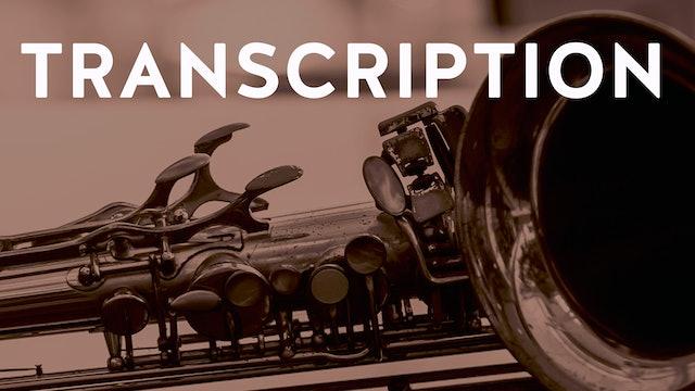 WARNE MARSH Transcription