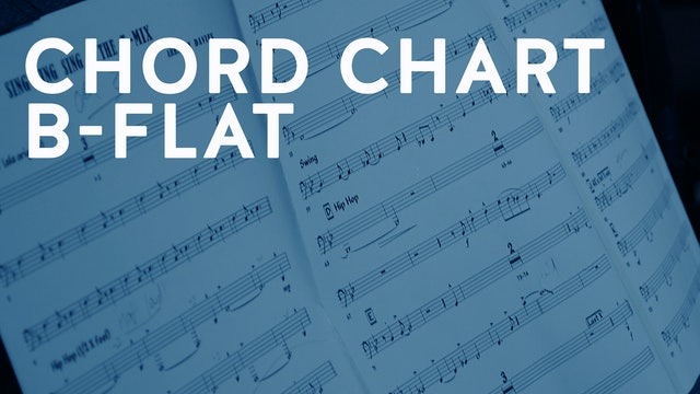 IF I SHOULD LOSE YOU Chord chart Bb (PDF)