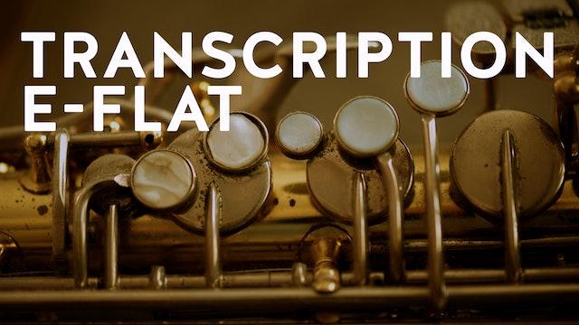 BLACK ORPHEUS Transcription PAUL DESMOND E Flat (PDF)