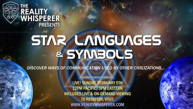 Star Languages & Symbols