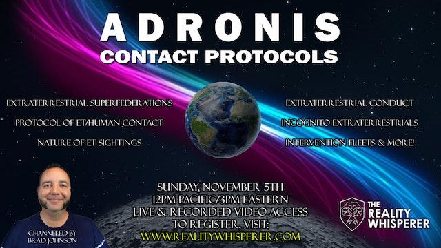 Adronis - Contact Protocols