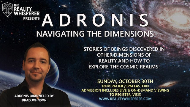 Adronis - Navigating the Dimensions