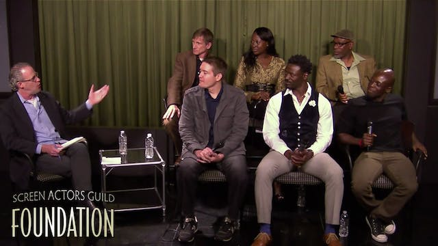 SAG Foundation conversation with union actors and director
