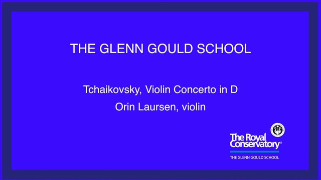 Gábor Takács-Nagy conducts the Royal Conservatory Orchestra - September 28, 2018