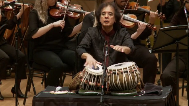 Zakir Hussain and John Patitucci with The Royal Conservatory Orchestra