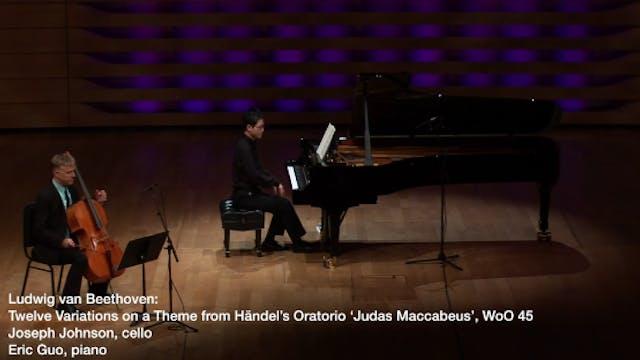 Beethoven: 12 Variations in G Major o...
