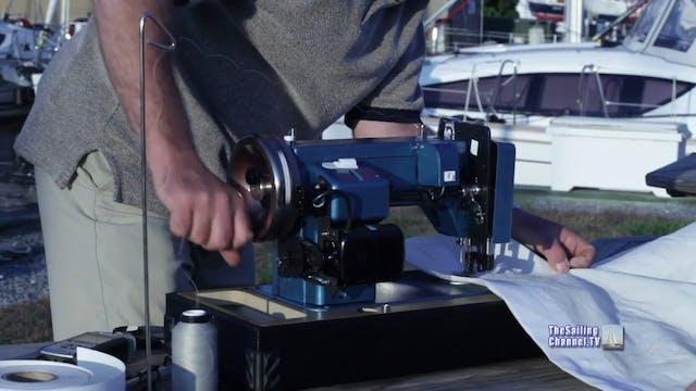 Sail Repair: Pt 4 - Leech Line, Sew T...