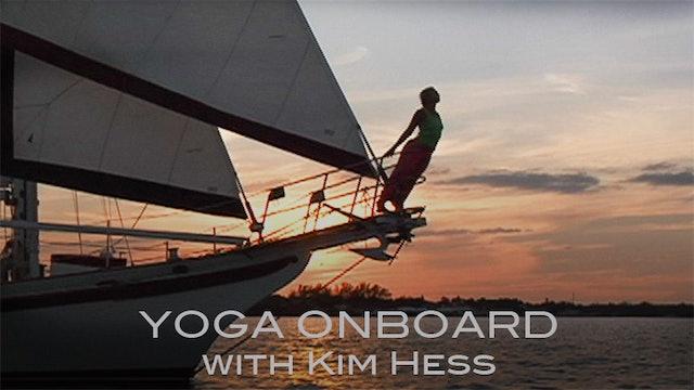 Yoga Onboard with Kim Hess