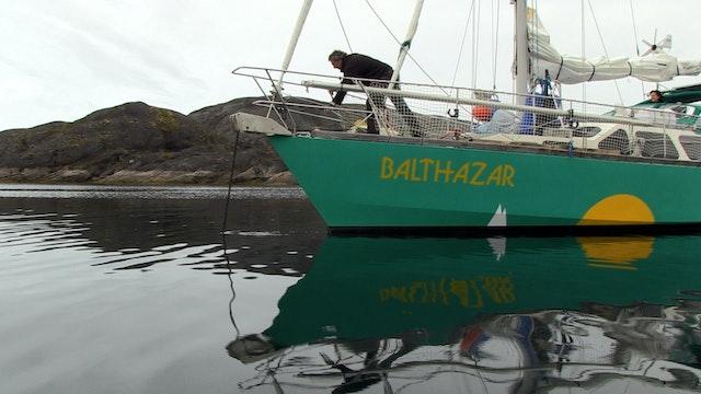 Le passage du Nord-Ouest du Groenland à la mer de Béring Voilier Balthazar