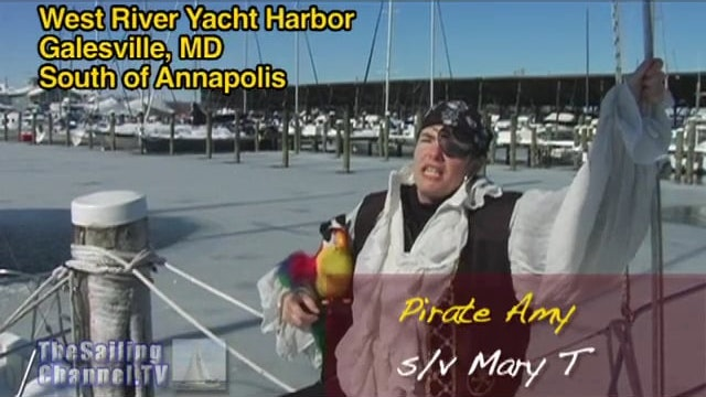 Pirate Amy of the Mary T: Snowmageddon on Pirate Friday