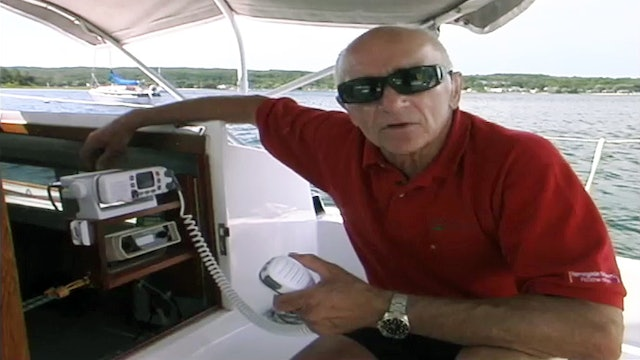 Cruising Tip: Using a VHF Radio - Underway