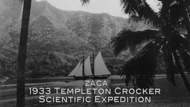 Zaca: 1933 Templeton Crocker Scientific Expedition