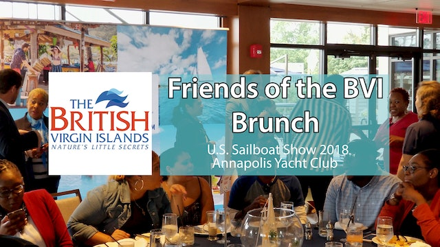 Friends of BVI Brunch - Sailing Report