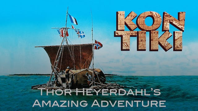 Kon-Tiki Color Footage