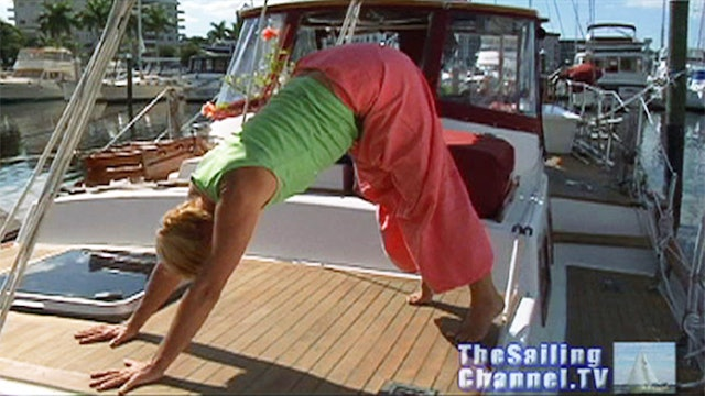 EXTRA: Yoga Onboard - Downward Facing Dog