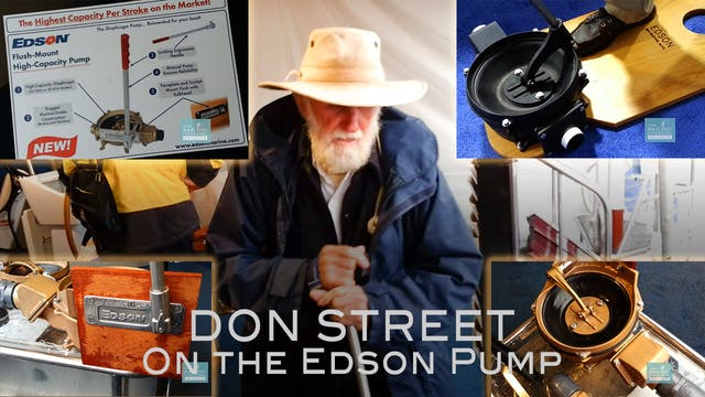 Don Street on the Edson Pump