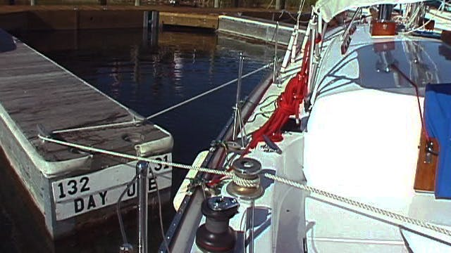 Cruising Tip: Backing Out of a Slip S...