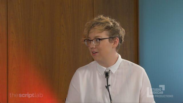 Britta Lundin, Television Writer / Author