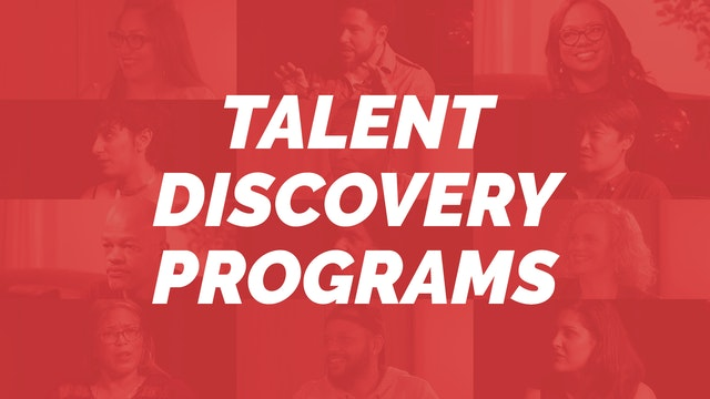 Talent Discovery Programs