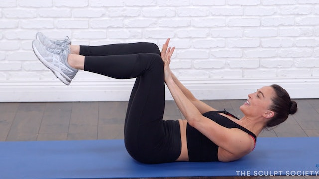 NEW! 10MIN ABS ON BACK + PLANKS