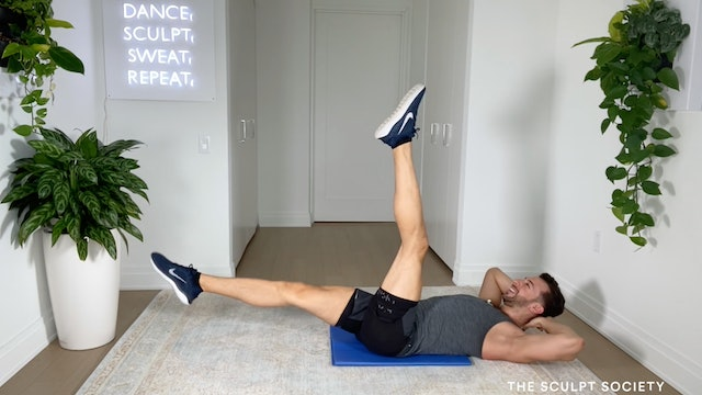 NEW! 13MIN QUICKIE ABS ON BACK w/ MATT