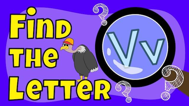 Find the letter V