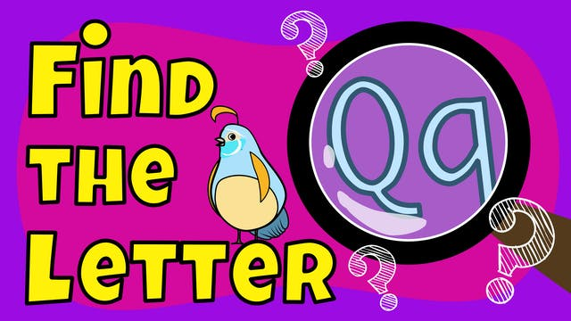 Find the Letter Q