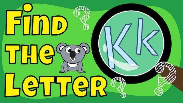Find the letter K