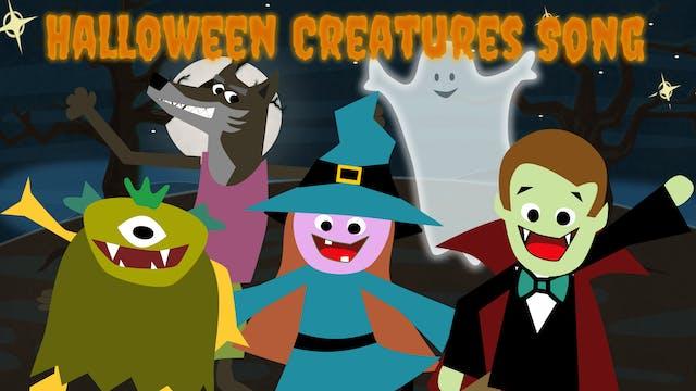 Halloween Creatures Song