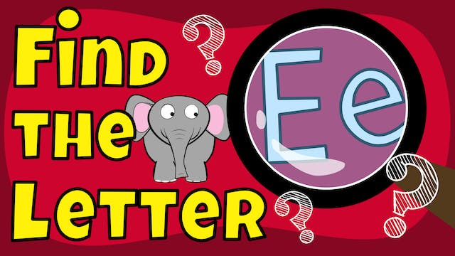 Find the letter E