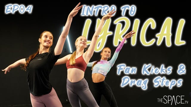 "Intro To Lyrical ""Fan Kicks & Drag St..."