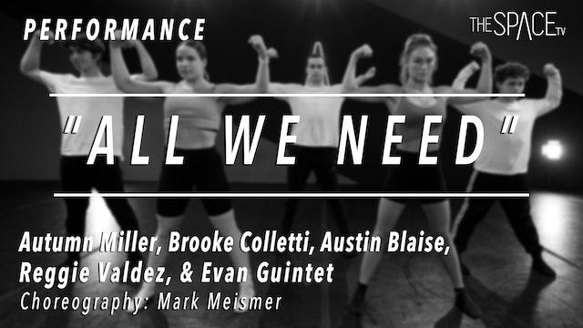 "PERFORMANCE: Lyrical ""KhulaRae's ""All We Need"" by Mark Meismer"