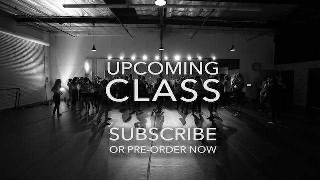 UPCOMING CLASS **Please Note: Subscribers Watch Free