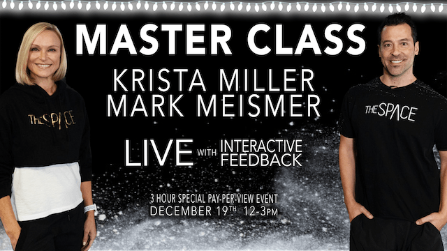 *SOLD OUT*  LIVE INTERACTIVE Master Class - Dec 19