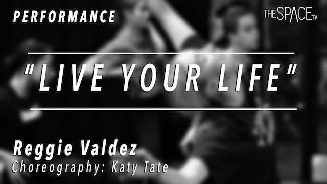 PERFORMANCE: Reggie Valdez / Contempo...