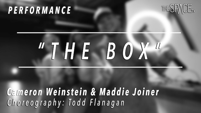 "PERFORMANCE: Maddie and Cameron / TikTok Tuesday ""The Box"" by Todd Flanagan"