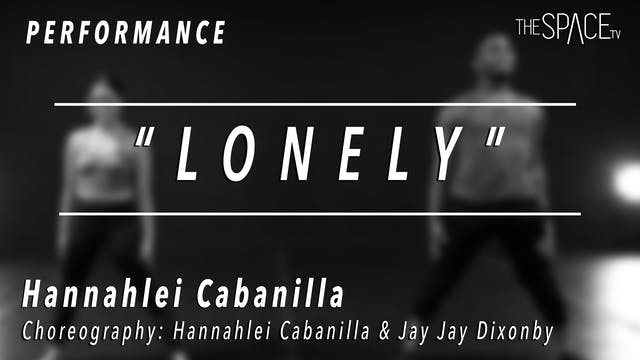 "PERFORMANCE: Hannahlei / Jazz ""Lonely..."