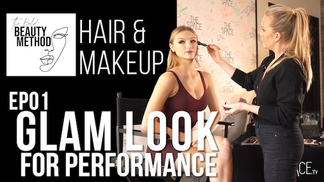 "Tutorial: ""Performance Glam Look Makeup"" / Meagan Brown - Ep01"