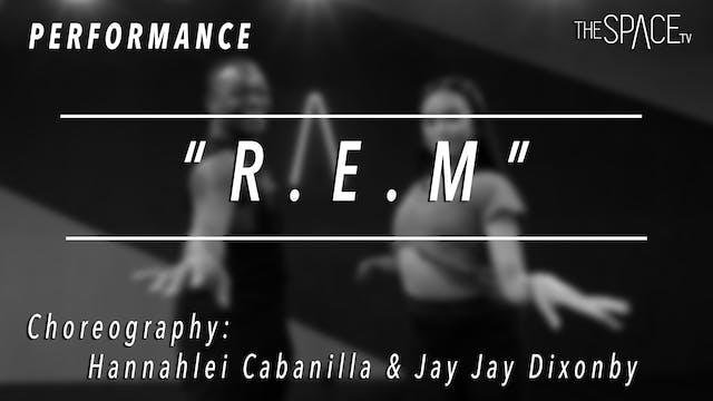 "PERFORMANCE: Jazz ""R.E.M."" by Hannahl..."