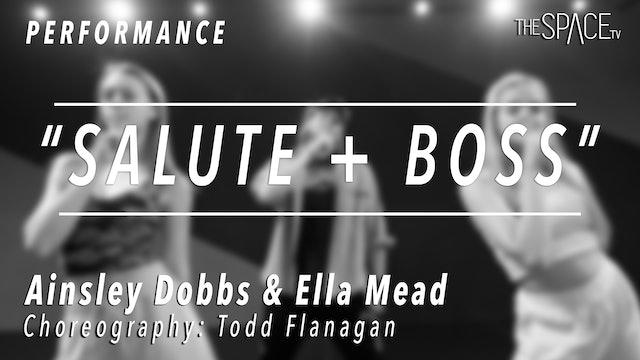 "PERFORMANCE: Ainsley & Ella / TikTok Tuesday ""Salute + Boss"" by Todd Flanagan"