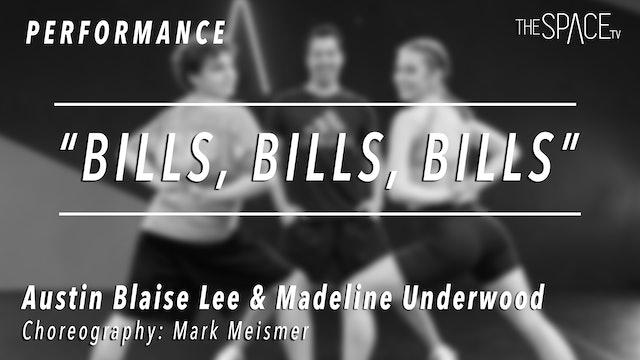 """PERFORMANCE: Austin and Madeline / Jazz """"Bills Bills Bills"""" by Mark Meismer"""