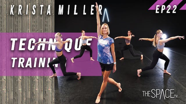 "Technique: ""Training"" / Krista Miller..."