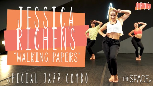 """Jazz: """"Walking Papers"""" / Jessica Richens"""
