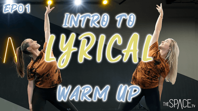 "Intro To Lyrical: ""Warm Up"" / Jess an..."
