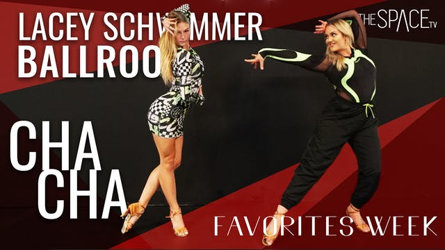 """Ballroom: """"Cha Cha"""" with Lacey Schwimmer"""