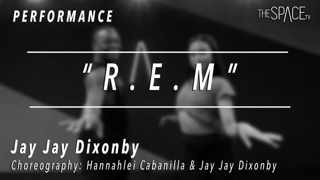 "PERFORMANCE: Jay Jay Dixonbey / Jazz ""R.E.M."" by Hannahlei & Jay Jay"