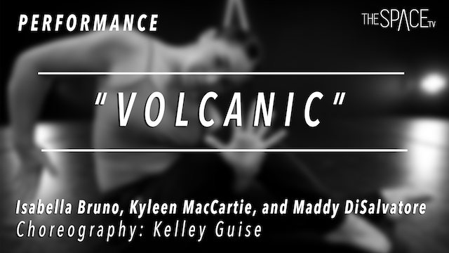 "PERFORMANCE: Bella, Kyleen, & Maddy / Contemporary ""Volcanic"" by Kelley Guise"